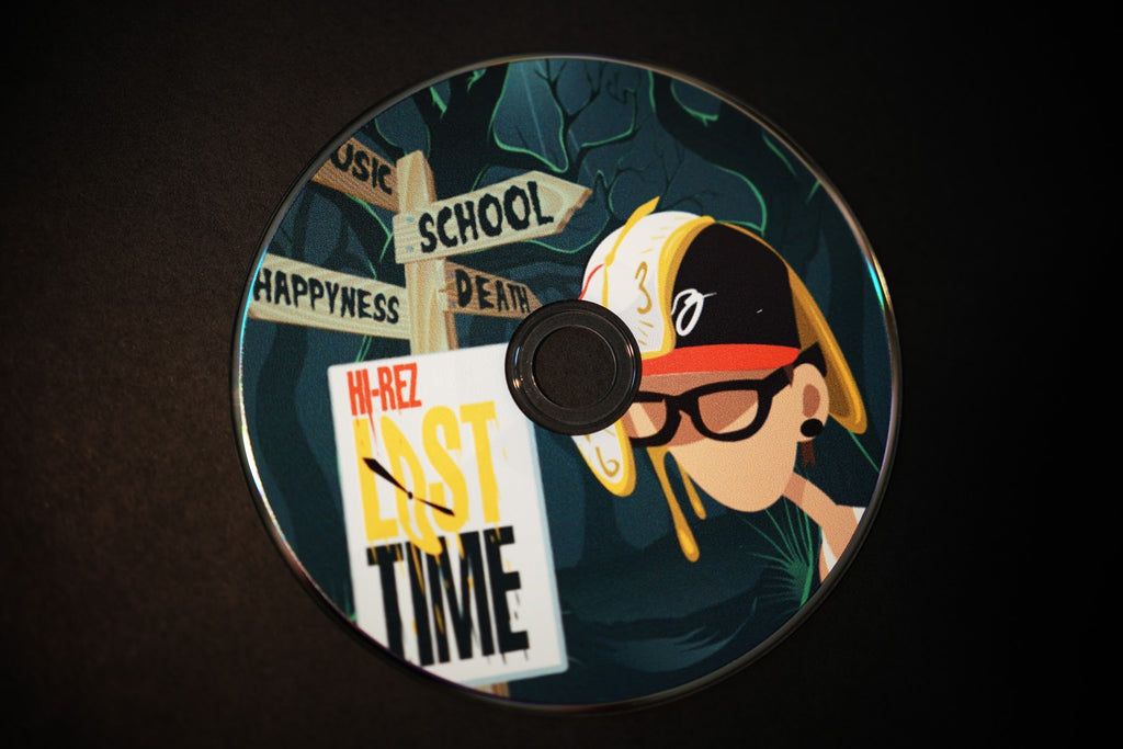 Lost Time CD (Signed)