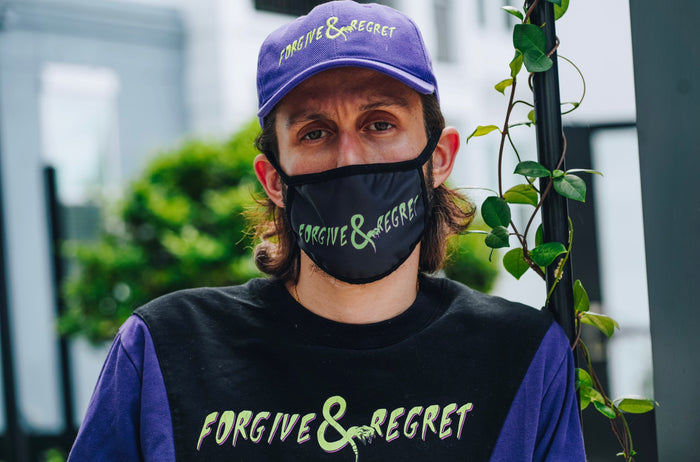 Forgive & Regret Facemask