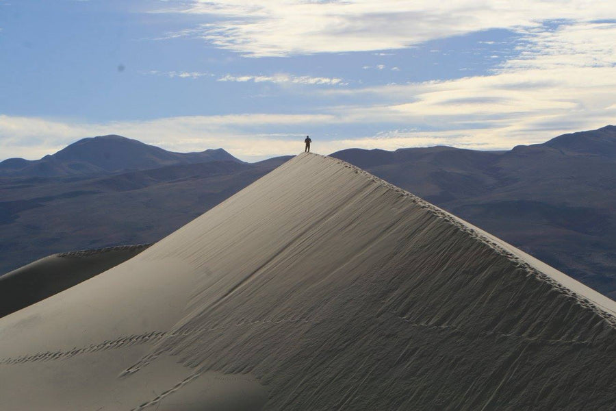 Death Valley and the Eureka Sand Dunes