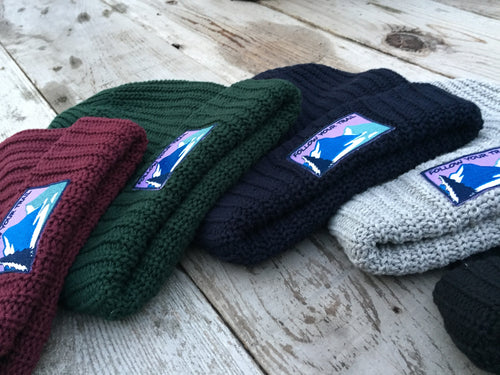 Follow Your Trail Knit Hat