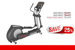 Image of Refurbished Life Fitness CLSX Integrity Series Crosstrainer