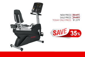 Image of Refurbished Life Fitness CLSR Integrity Series Recumbent