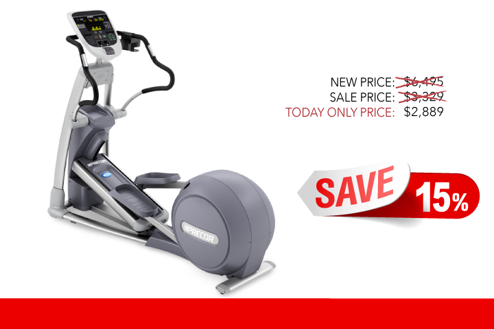 Image of Refurbished Precor EFX833 Experience Consumer Elliptical