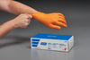 7 mil Textured Nitrite Gloves (Orange) X-Large