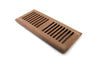 "Airwood Classic Vent Self-Rimming 4"" x 10"" Unf. Red Oak"
