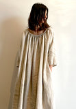MARCELLA DRESS LINEN 3/4 sleeve