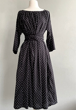 SWISS DOT MARCELLA DRESS
