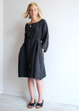 TUNNEL DRESS LINEN