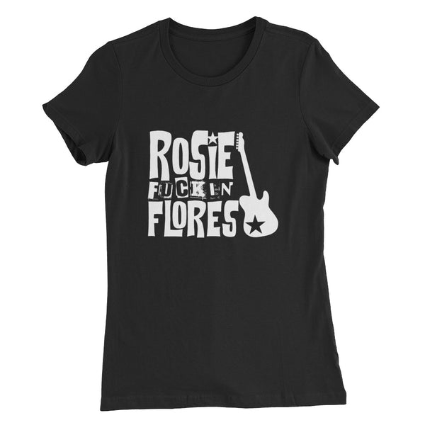 Rosie Fuckin Flores Women's Slim Fit T-Shirt