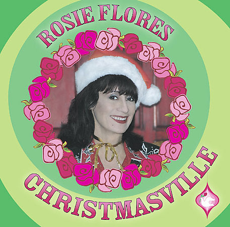 Rosie Flores Christmasville CD