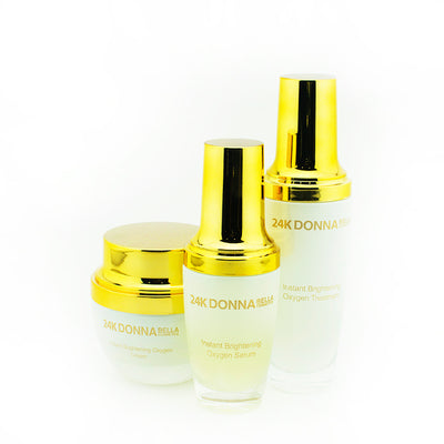 24K Gold Instant Brightening Set - Donnabella Pro