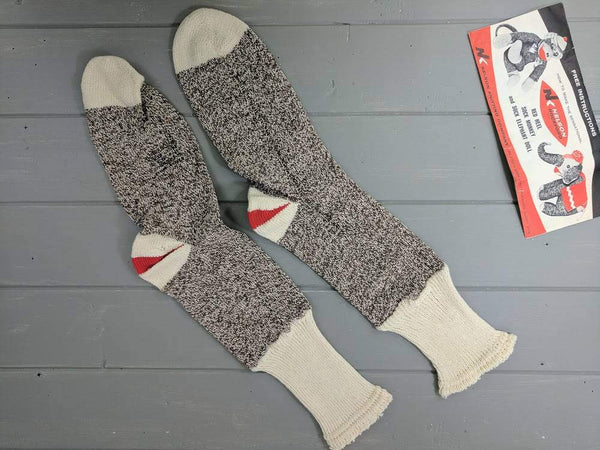 Vintage Nelson Sock Monkey Socks