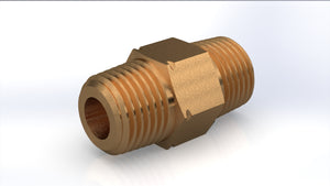 "P125 - Inserted Check Valve 1/8"" NPT , Brass, 0.5 Opening Pressure"