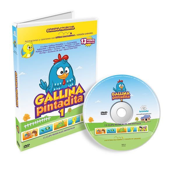 DVD Gallina Pintadita Vol. 1