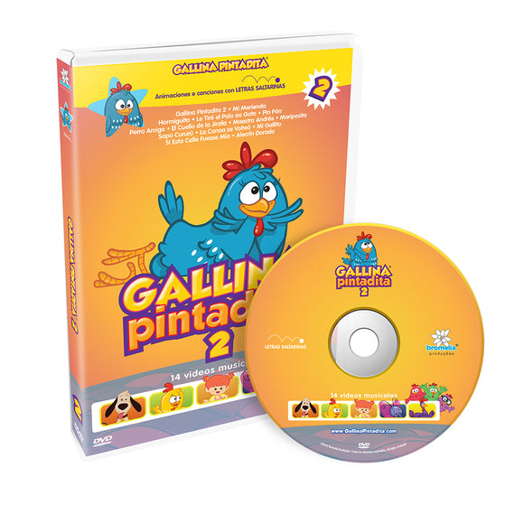 DVD Gallina Pintadita Vol. 2