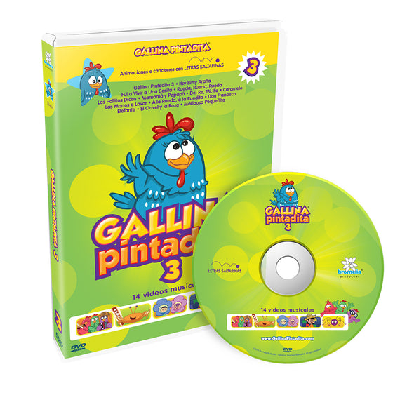 DVD Gallina Pintadita Vol. 3