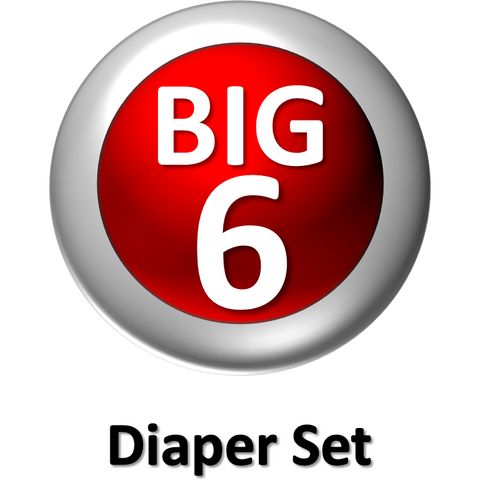The Big Six - My First Diapers