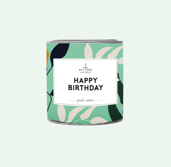 The Gift Label Amsterdam Candle Tin 310g