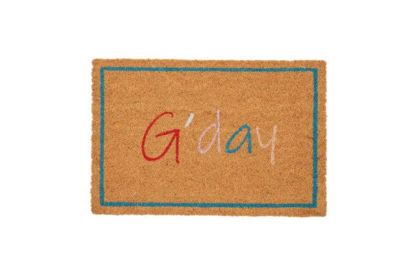 Life Botanic G'day PVC Backed Coir Mat 40x60cm