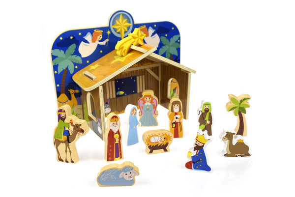Tooky Toy Nativity Scene