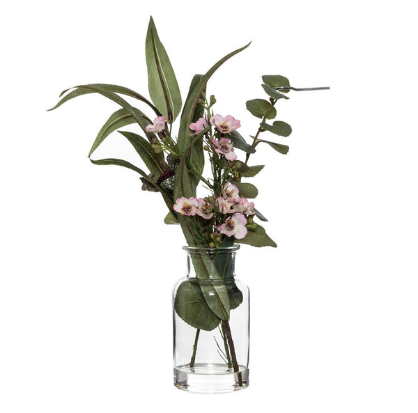 Australiana Wax Flower Mix-Specimen in Bottle 32cm