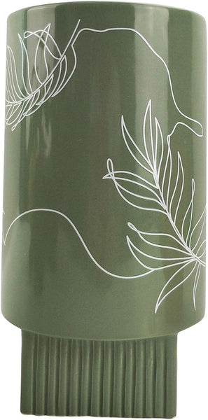 Urban Products Nova Leaf Vase Green 22cm
