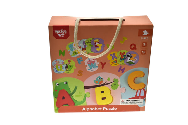 Tooky Toy Alphabet Puzzle in Carry Box