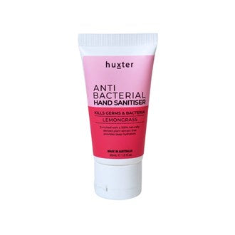 Huxter Handsanitiser 30ml Tube - Pink Duo- Lemongrass