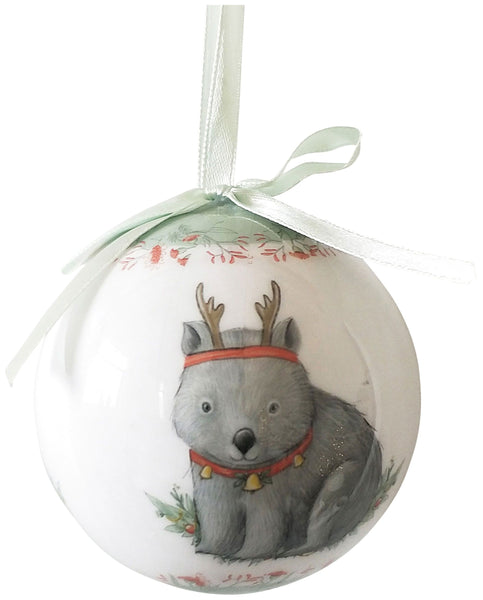 Urban Products Wombat RT 7cm Bauble w/Gift Box