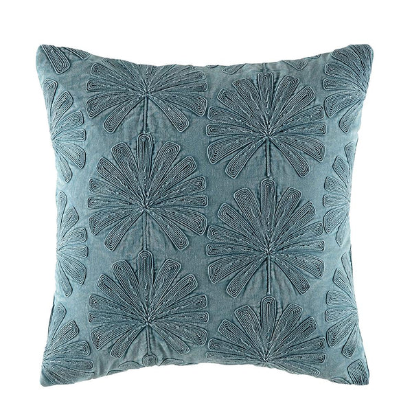 KAS Palma Cushion Teal
