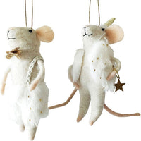 Urban Products Dressy Mice Felt Hanging Decoration