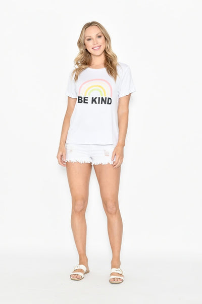 New U Collection Be Kind T-Shirt - White