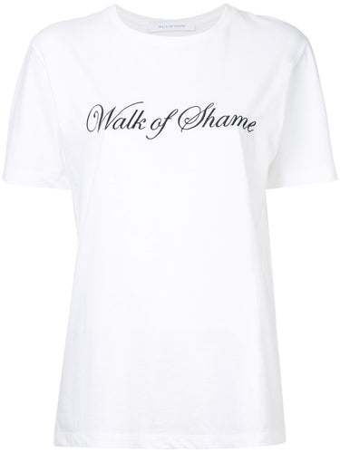 Walk of Shame logo print T-shirt