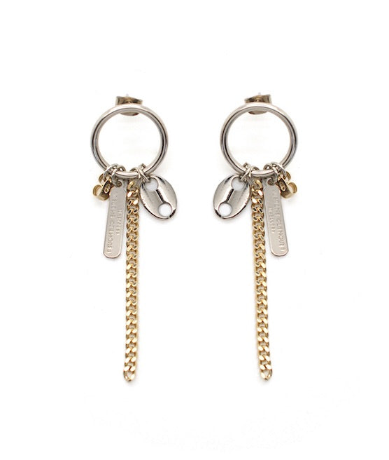 Justine Clenquet Rita earrings