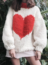 The Knitter Happy Hearts jumper