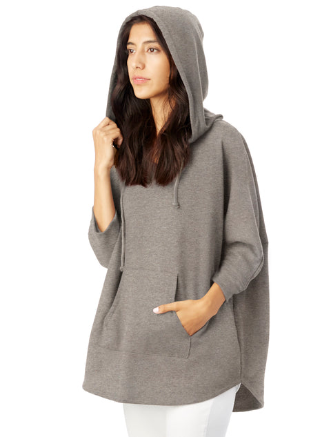 Women's French Terry Poncho