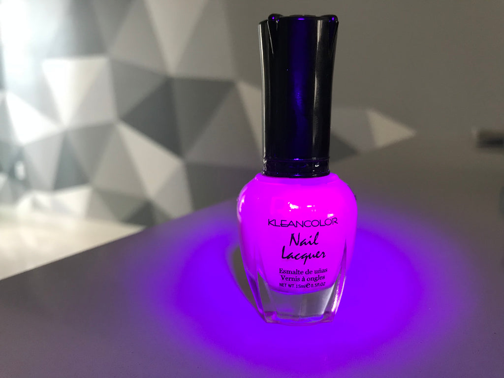 UV / Blacklight Reactive KLEANCOLOR Nail Laquer, Nail Polish ...