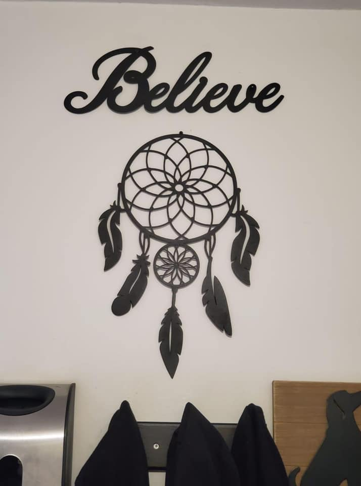 Believe Dream Catcher