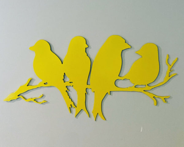 Birds on a Branch Address Sign