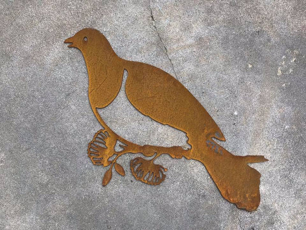 Corten Woodpigeon - Plazmart NZ