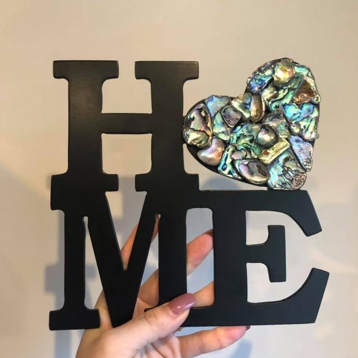 Paua Home Heart - Plazmart NZ