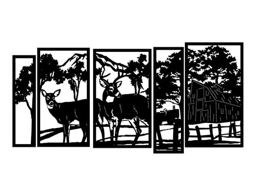 Deer Screen 9 - Plazmart NZ