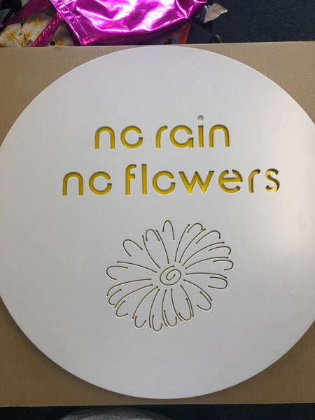 No Rain No Flowers - LAST ONE