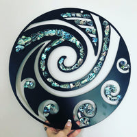 Paua Koru Circle - Plazmart NZ
