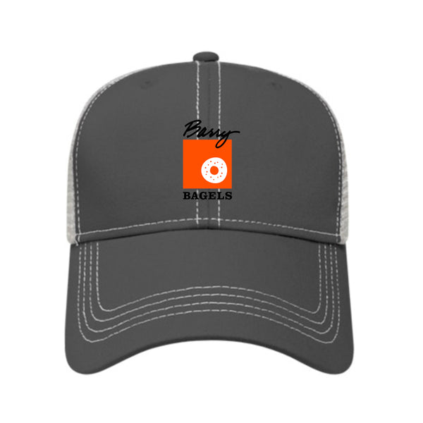 Franchisee Cap America Uniform Structured Mesh Back Cap - Charcoal