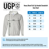 Gildan Uniform Zip-Up - Sport Grey