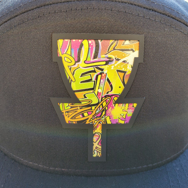 Graffiti 3D Basket Logo