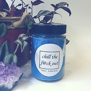 Chill The F*ck Out Ritual Candle
