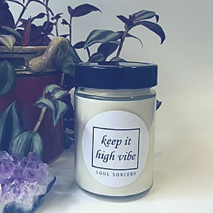 Keep It High Vibe Ritual Candle