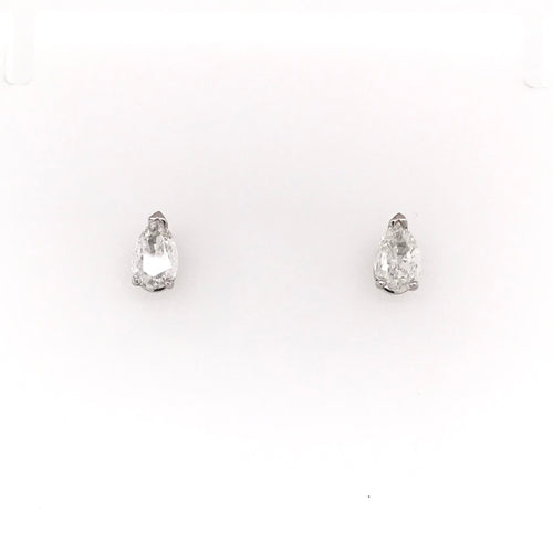 1.01 TW FANCY CUT DIAMOND STUD EARRINGS